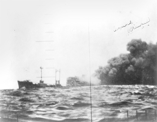 Sinking of the Kirishima Maru, sunk on Patrol 1